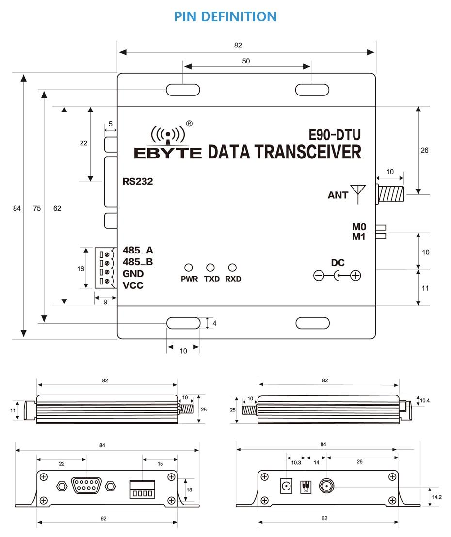 E90-DTU LS LoRa Relay Transceiver (18)