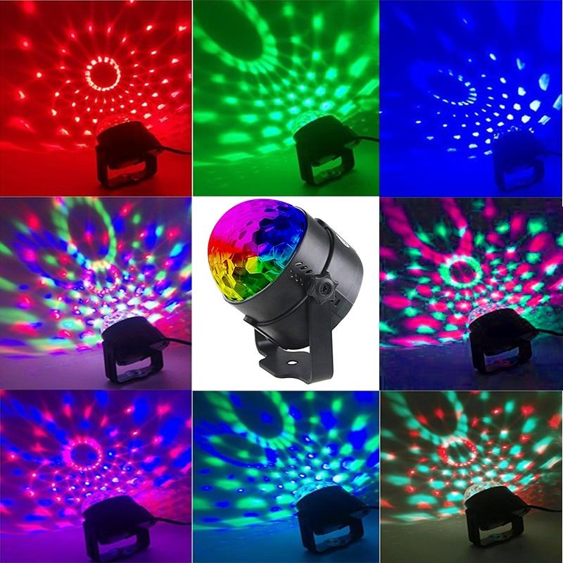 TRANSCTEGO Disco Light USB Party Laser For Car DJ Magic Ball - Kommersiell belysning - Bilde 2