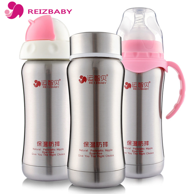 REIZBABY 3-in-1 Insulation Baby Bottle Thermo