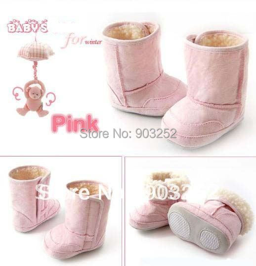 3 Colors Warm and Cute for Winter  Snow shoes/Anti-slip Baby Boots/Toddler&Infant's Shoes/Footwear/First walker/Baby pre-walkers