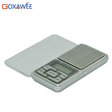 GOXAWEE Mini Precision Digital Scale for Gold Sterling Silver Scale Jewelry 0.01 Weight Electronic Scales 100g/0.01g  200g/0.01g