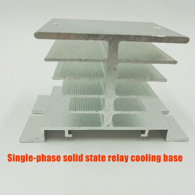 Single-phase solid state relay cooling base Heat sink/radiator solid special heat dissipation performance is strong