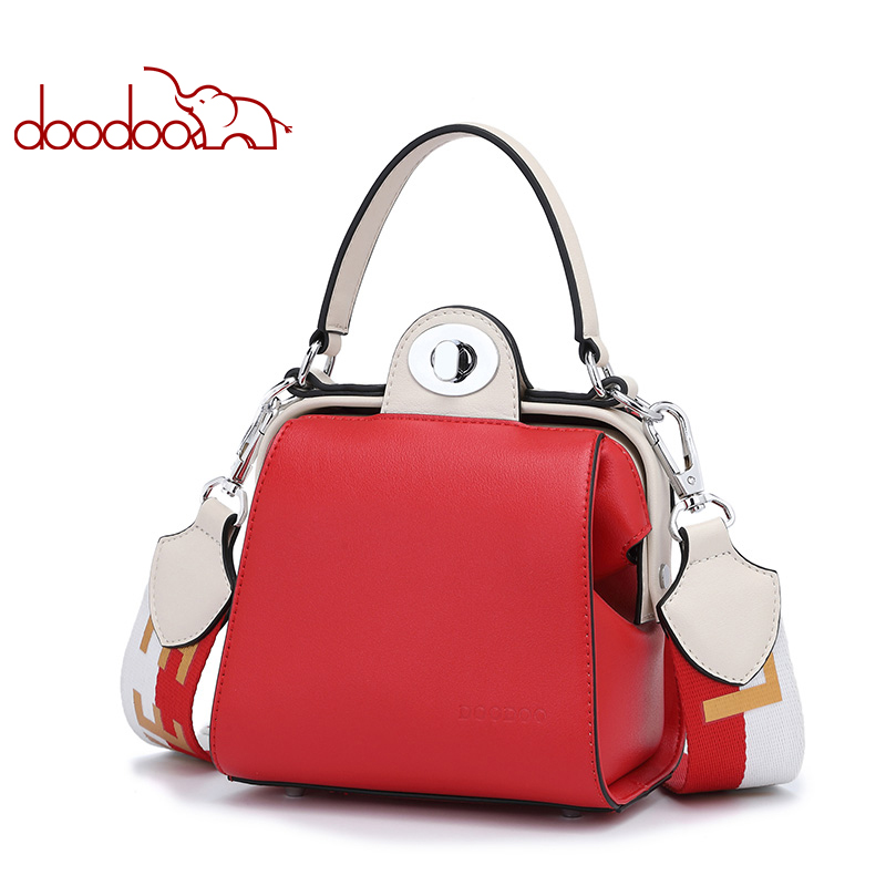 Doodoo Fashion Women Shoulder Bag New High Quality Womens Masseger Bags Luxury Handbags Lady Bags Designer