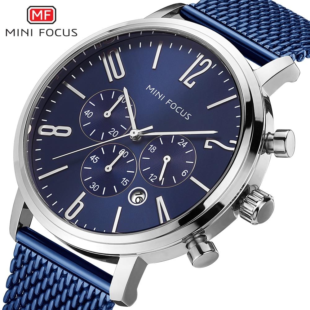 MINI FOCUS Wrist Watch Men Top Brand Luxury Famous Male Clock Quartz Watch Wristwatch Quartz-watch Relogio Masculino MF0183G.01 стоимость