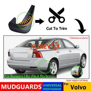 Image 4 - 4 Đa Năng Chắn Bùn Mudflaps Bắn Vệ Binh Mudguards Trước Sau Cho Volvo C30 S40 S60 S70 S80 V40 V50 v60 V70 XC70 XC90