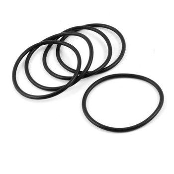 10 piezas 65mm x 58mm x 3,5mm aceite de goma sellado O anillos para mecánica