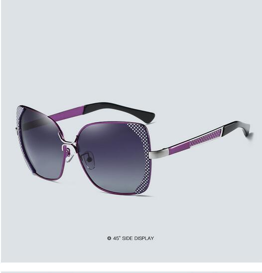 Female polarized elegant butterfly brand designer lady polarized sunglasses female Oculos De Sol KINGSEVEN shadow s'40 15