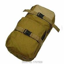 Molle MBSS 3L hidratación agua mochila mochila para chaleco táctico viaje Riding Bike agua de la bicicleta bolsa