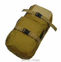 Molle MBSS 3L Hydration Water Back Pack Pouch For Tactical Vest Coyote Brown
