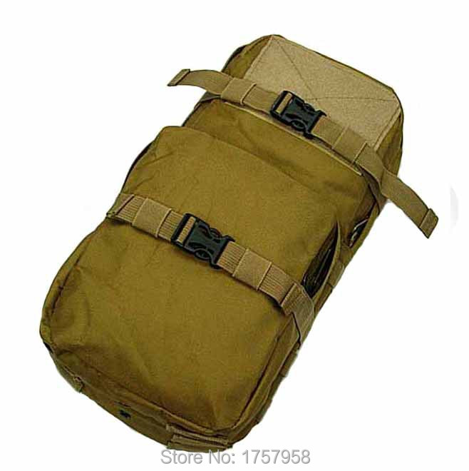 Molle <font><b>MBSS</b></font> 3L Hydration Water Backpack For Tactical Vest Travel Riding Bike Bicycle Water Bag image