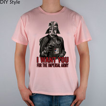 Vader Wants You Star Wars t-shirt Male short-sleeve New Arrival Fashion Brand T Shirt For Men