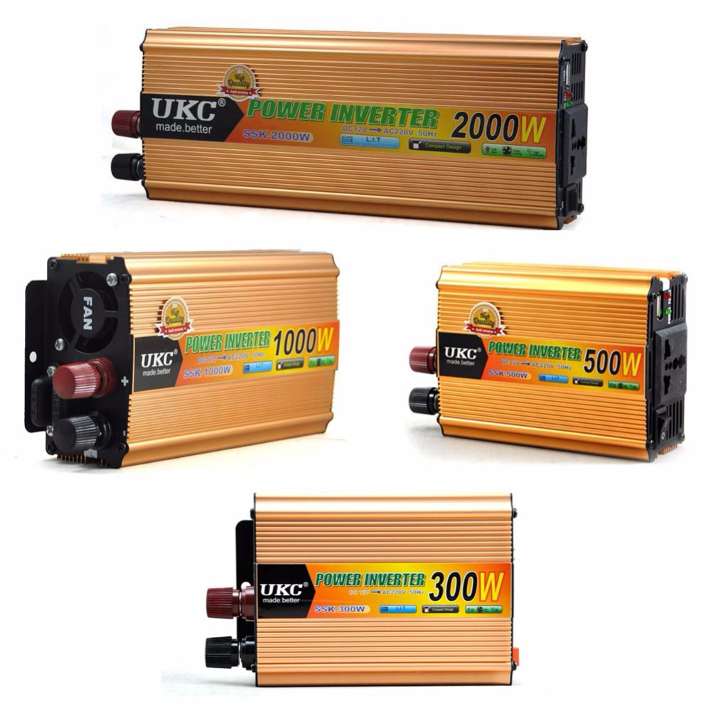 Portable 12V Boost to 220V Modified Sine Wave Power Inverter 300W 500W 1000W 2000W office equipment television sets computers  цены