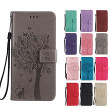 For Nokia 7.1 Case Luxury Flip PU Leather Case Cover For Nokia 7.1 Case Cell Phone With Card Holder Stand ethnic style pu and tpu material cover case with stand card holder for nokia lumia n930