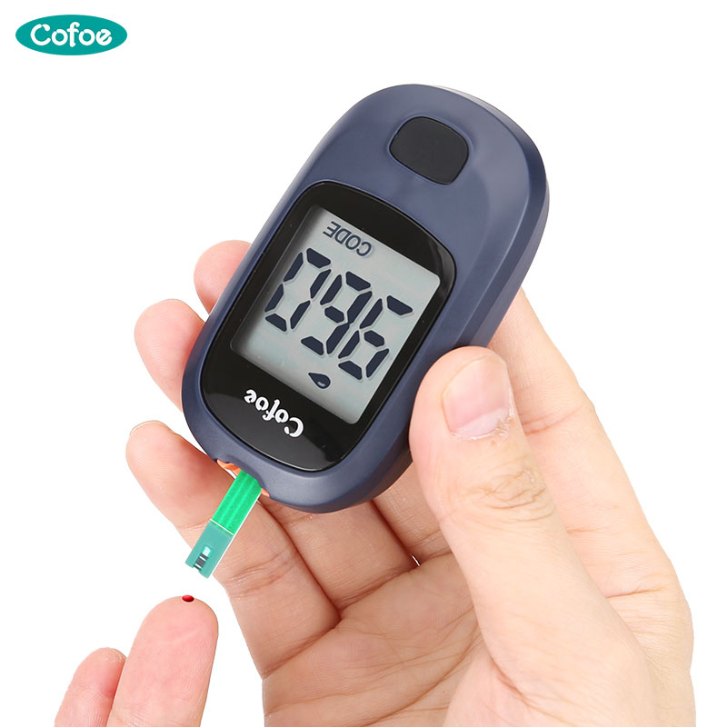 Cofoe Yice Glucometer Medical Blood Glucose Meter Diabetes Monitor & Test Strips & Lancet Needles for Testing Blood Sugar Levels deluxe how luxury lost its