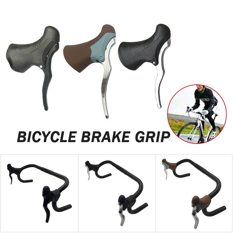 1 пара велосипедная Трансмиссия руль Тормозной Рычаг Ручка для велосипедного тормоза алюминиевый сплав велосипедные инструменты