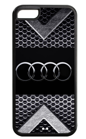 Audi Car Logo Print iPhone Case