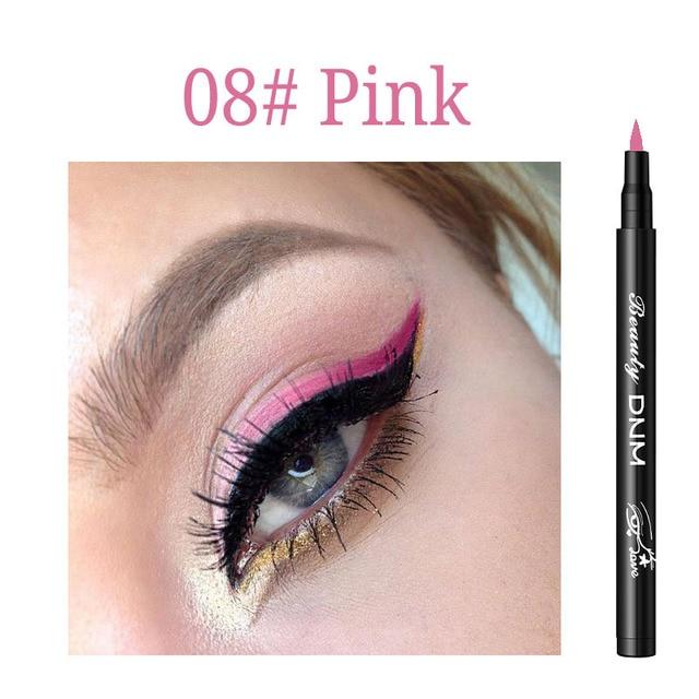 12 Colors Eyeliner Pencil Long Lasting Waterproof Eyes Makeup Pen Liquid Eye Liner Smoothly Pencil Black Make Up Tools Eyeliner 5
