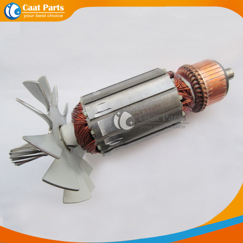 Free shipping!  AC 220V 11-Teeth Drive Shaft Electric Circular saw Armature Rotor for Makita 4107B , High-quality! new for haier washing machine drum door hinge 0020102698