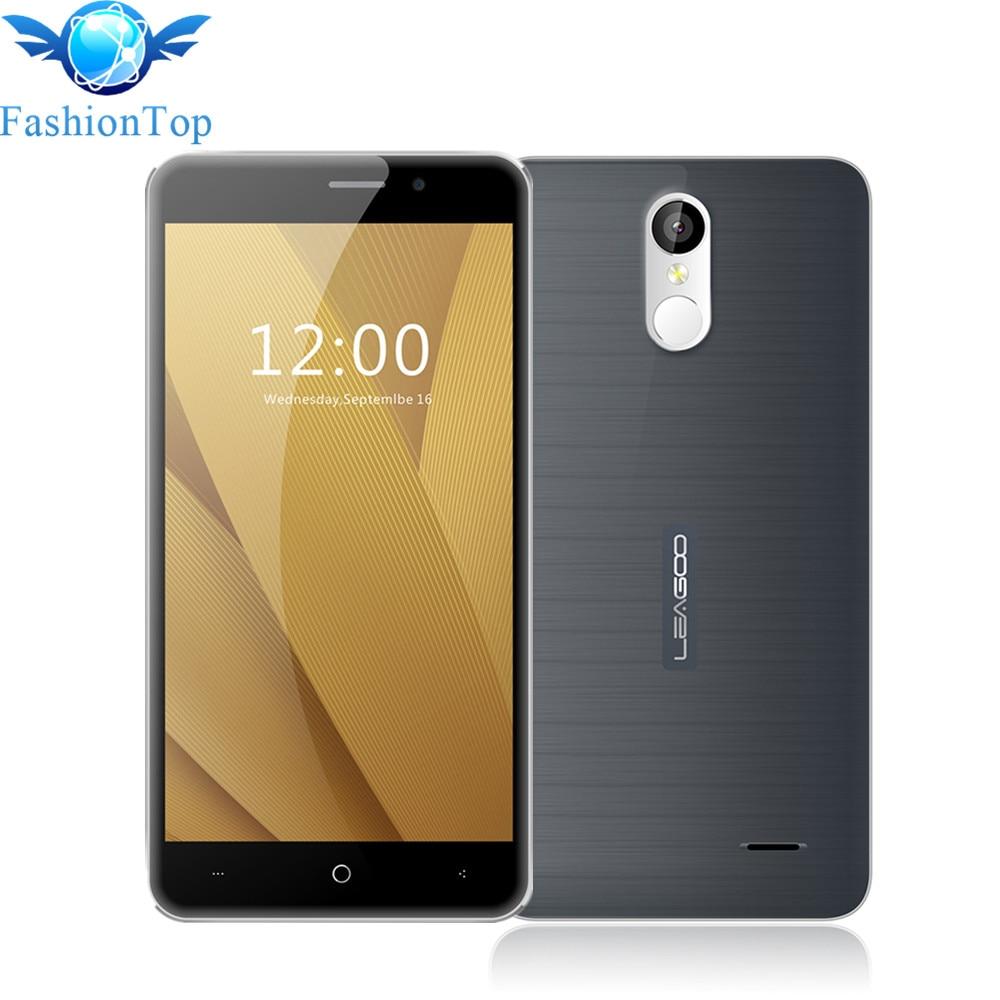 Leagoo m5 más 5.5 pulgadas hd teléfono móvil android 6.0 mtk6737 Quad Core 2 GB