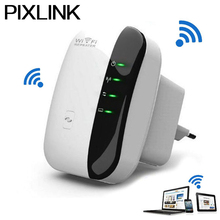 PIXLINK 300Mbps Wireless WiFi Repeater Network Router Wi Fi Repetidor Signal Expander Booster Extend Amplifier 802