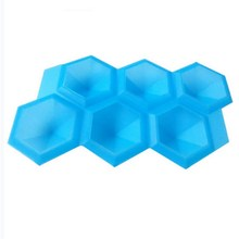 Diamond Shaped Silicone Ice Cube Tray Perfect Kitchen Ice Cream Tools Bar Party Accessories