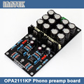 Собраны OPA2111KP фоногнездо предусилитель доска