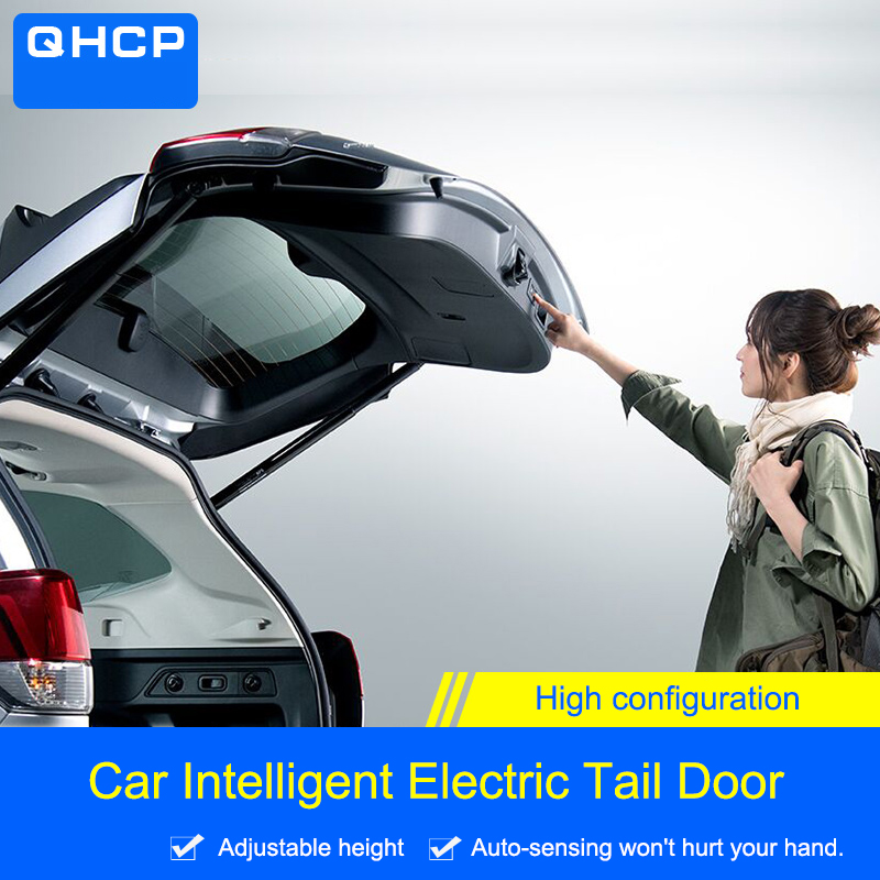 QHCP Anti pinch Car Electric Tail Gate Lift For Subaru XV 2018 2019 Forester 2013 2014 2015 2016 2017 2018 2019 Remote Control-in Trunk Lids & Parts from Automobiles & Motorcycles    1