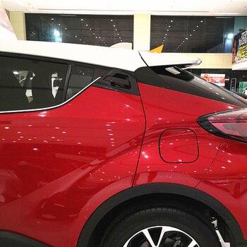 Untuk Toyota C-HR CHR 2017 2018 ABS Serat Karbon Air Transfer Printing Door Handle Bowl Di Luar Cover Trim Accessories 6 buah