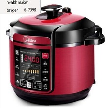 Midea WQC50A5 5L кухонная плита, бытовая электрическая рисоварка, рисоварка из нержавеющей стали, красная домашняя машина для супа и мяса