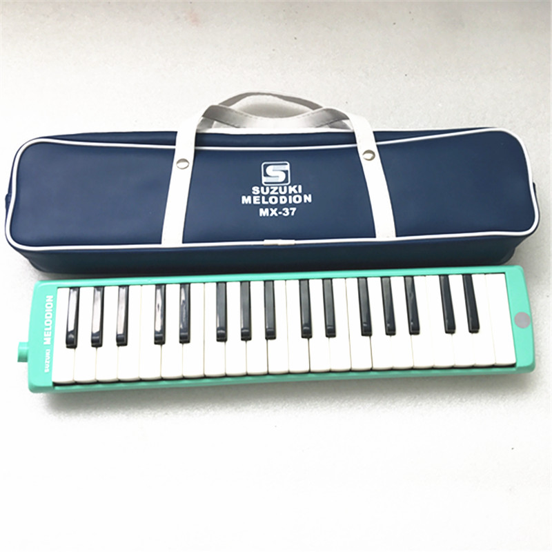 37 Keys Green Suzuki Alto Professional Melodion Melodica MX-37 With Leather Bag цена 2017