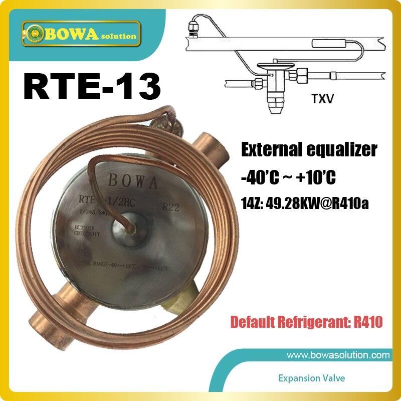 RTE-13 TXV membrane métallique est un flexible plaque métallique qui peut se développer en raison pression de réfrigérant à l'intérieur la plante
