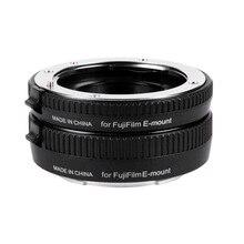 Viltrox DG-FU аф макро-объектив удлинитель кольцо 10 мм 16 мм комплект металл крепление для Fujifilm X макро-объектив камеры