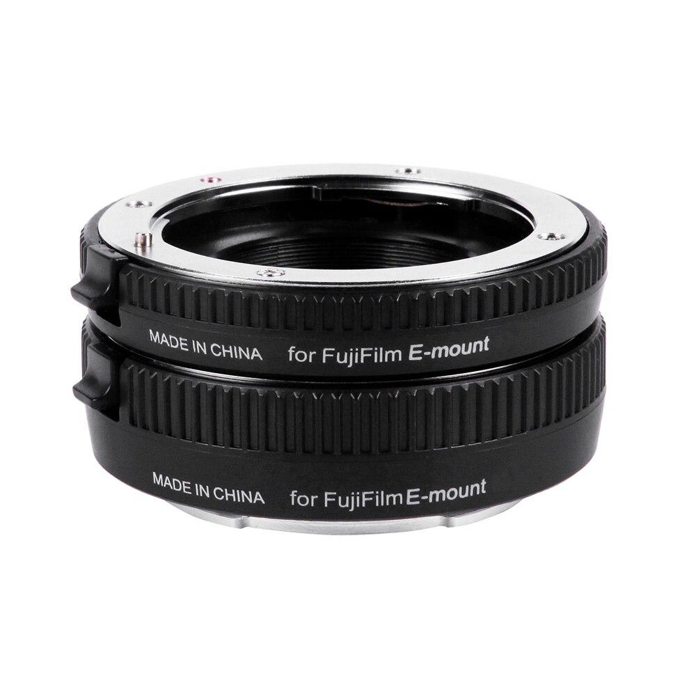 Viltrox DG-FU Autofokus AF Macro Extension Tube Ring 10mm 16mm Set Metall Halterung für Fujifilm X Montieren Makro-objektiv kamera