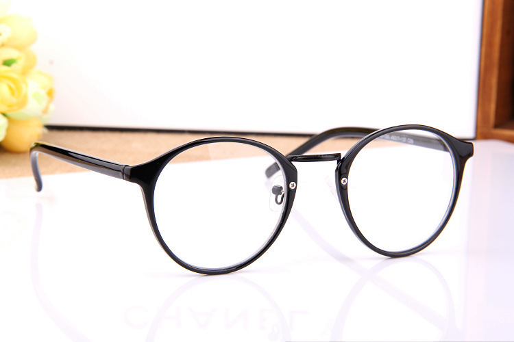 55e0bfd9be 2014 Most popular eyeglasses Men Women round frame eyewear Fashion eye  glasses oculos de grau have lens myopia -in Eyewear Frames from Apparel  Accessories ...