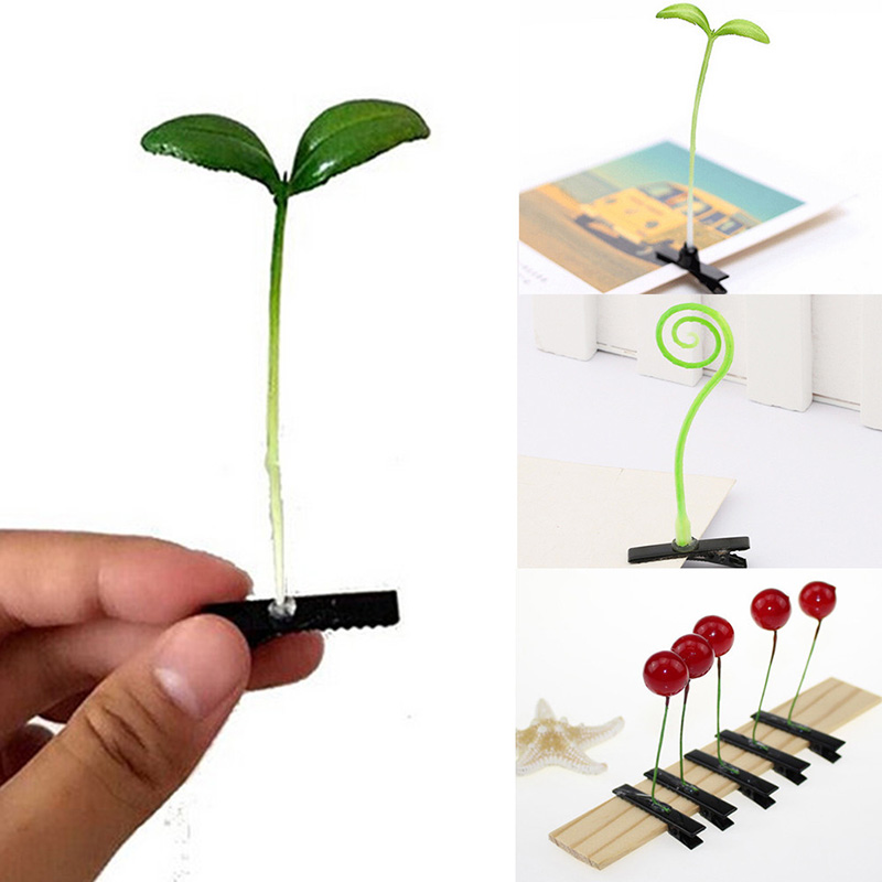 Funny Bean Sprout Bobby Hairpin Flower Plant Hair Clips Grass Clips Headwear Clasp Hair Claw Jaw Clip Clamp For Kids Girls Women