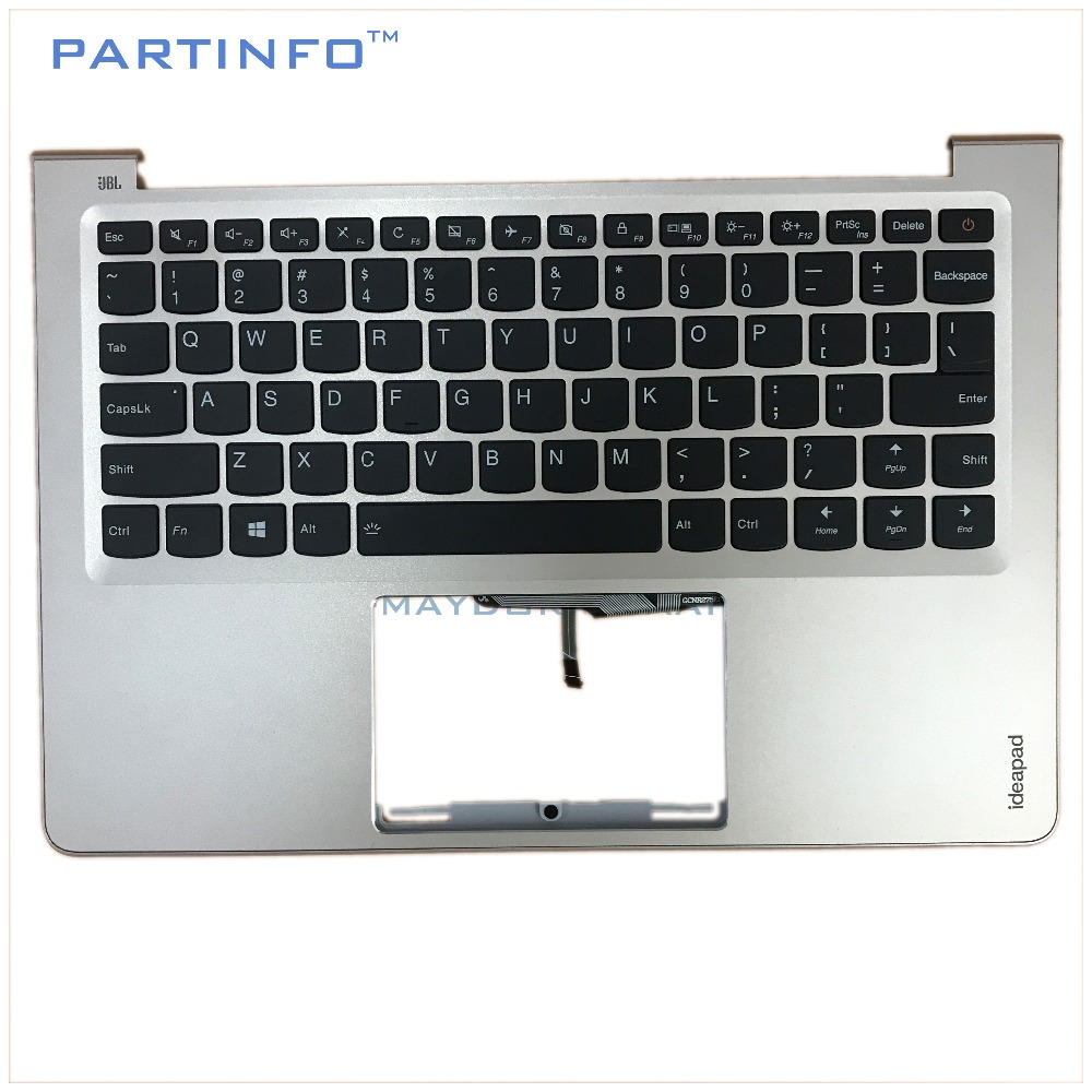 Laptop parts for LENOVO AIR13 IDEAPAD 710S-13IKB IDEAPAD 710S-13ISK Palmrest GOLDEN /w US Backlit keyboard 5CB0L20753 for sony vpceh35yc b vpceh35yc p vpceh35yc w laptop keyboard