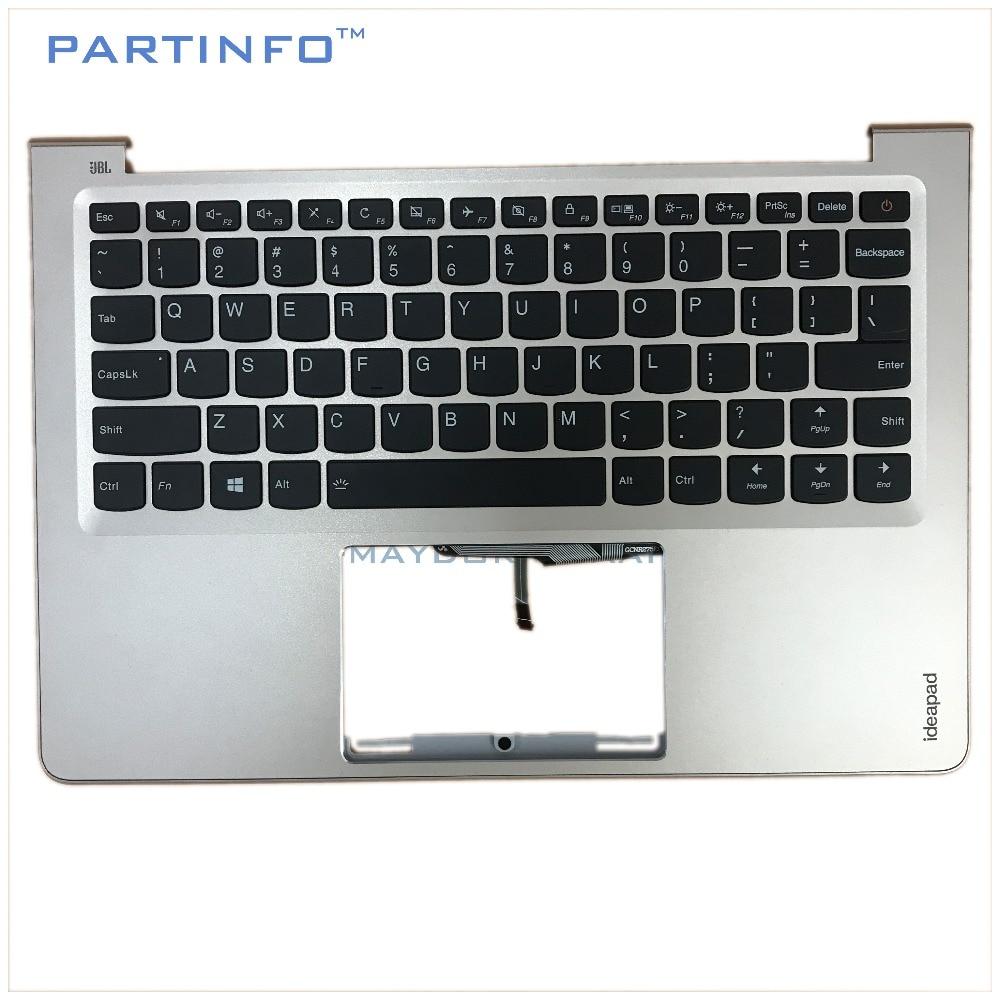 Pièces d'ordinateur portable pour LENOVO AIR13 IDEAPAD 710S-13IKB IDEAPAD 710S-13ISK repose-main or/w US clavier rétro-éclairé 5CB0L20753