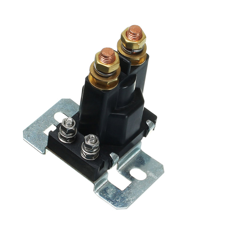 Relay Dual Battery Isolator Start On/Off 4 Pin 500A 12V /24V DC For Car Power Switch CLH@8 200a dc12v 24v 48v relay 4 pin for car auto heavy duty install car starting relay for amp style high power