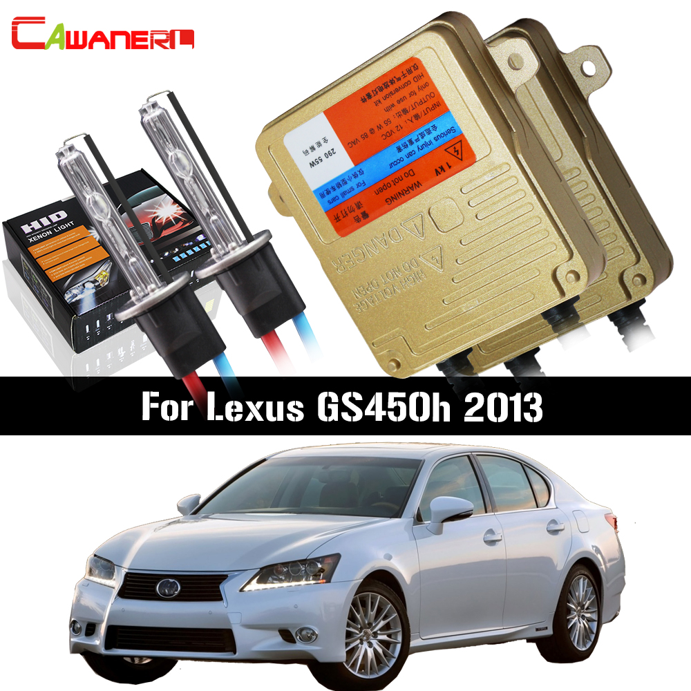 Cawanerl 55W Auto Canbus Ballast Bulb AC Error Free HID Xenon Kit 3000K-8000K Car Headlight Low Beam For Lexus GS450h 2013Cawanerl 55W Auto Canbus Ballast Bulb AC Error Free HID Xenon Kit 3000K-8000K Car Headlight Low Beam For Lexus GS450h 2013