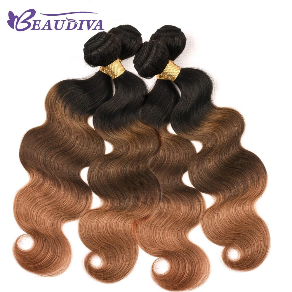 Peruvian Body Wave Hair Weave 4 Bundles Deals 16-26 RemyHuman Hair Bundles 4pcs/lot BeauDiva Hair Extensions