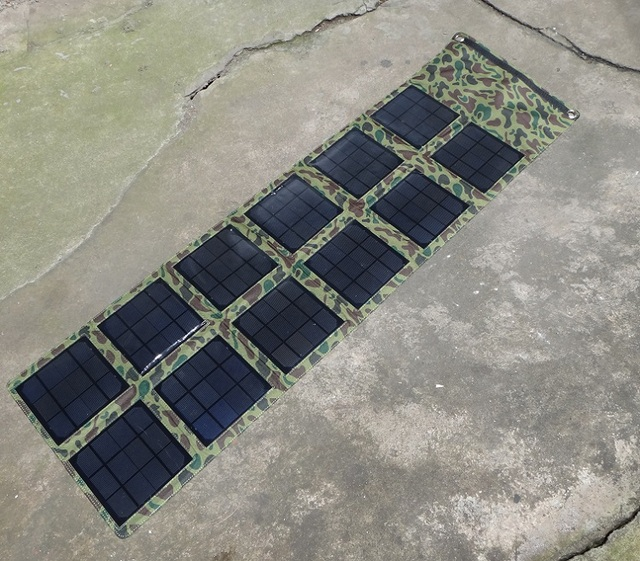 36W folding Solar placa solar Panel charger /Cells/ Power Bank output , ideal for outdoor camping , hiking, travelling