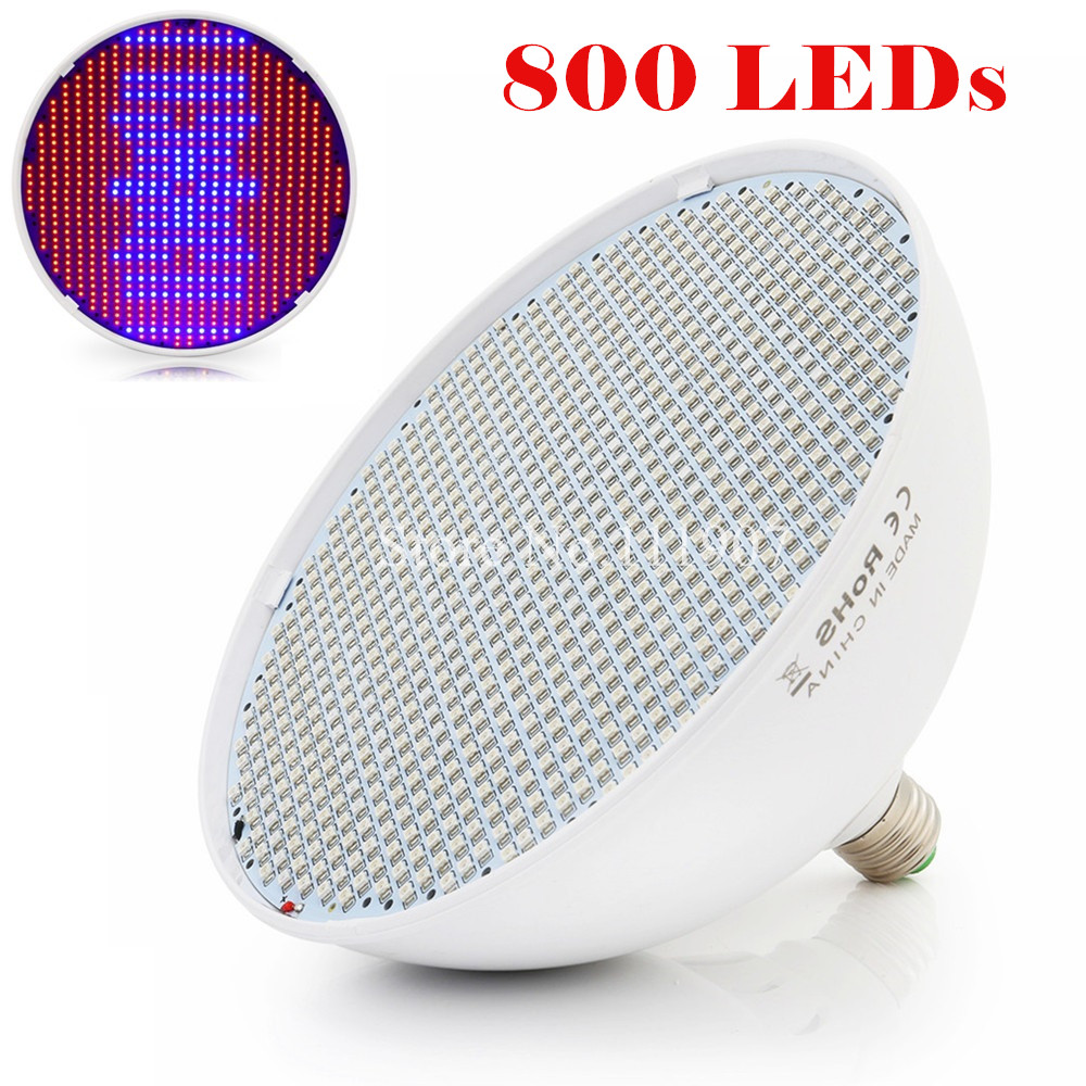 E27 E40 80W 800pcs SMD 640Red:160Blue LED Plant Grow Lights LED Grow Lamp For Plant Seedling Vegs Flower Hydroponic System