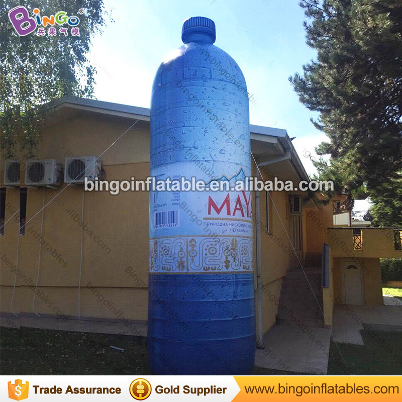 Customized water bottle type 5m outdoor giant advertising inflatable beer bottle from China custom inflatable manufacturer inflatable cartoon customized advertising giant christmas inflatable santa claus for christmas outdoor decoration