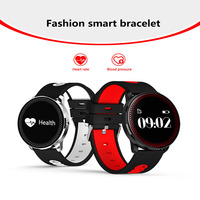 Yulubu CF007 Interpad Ultra Thin Smart Wristband Bluetooth Sport Smart Band Watches Blood Pressure Heart Rate Smart Bracelet