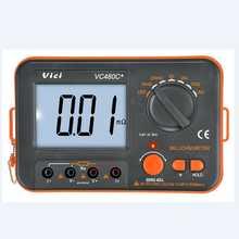 3 1/2 Digital Milli-ohm Meter VC480C+ LCD Backlit 4 Wire Test Low Resistance Multimeter 6 Ranges Accuracy Measurer VICI Brand