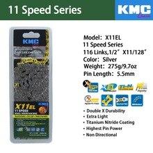 купить KMC X8PL X9SL X10SL X10EL X11EL Bike Chain 8 9 10 11 speed for MTB/Road Bike for Shimano/SRAM 116L /chain bike по цене 3752.21 рублей