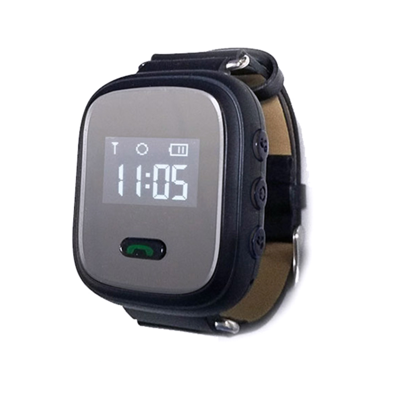 New High Quality Smart Tracker Mini Waterproof GPS Tracker Watch 0.96 Inch For