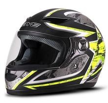 BYE Motorcycle Helmet Men Full Face Breathable Comfort ABS Material Riding Motorbike Moto Motocross