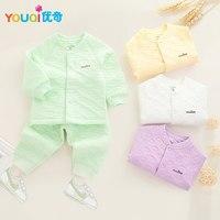 YOUQI Unisex Baby Clothes Winter Boys Clothing Set Baby Girls Suit Spring Autumn Toddler Infantil Underwear