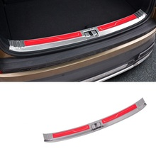 Car Modified Decorative Rear Panels Trunk Foot Pedal Exterior Fashion Protecter Covers Modification Trim 18 19 FOR Skoda Kodiaq